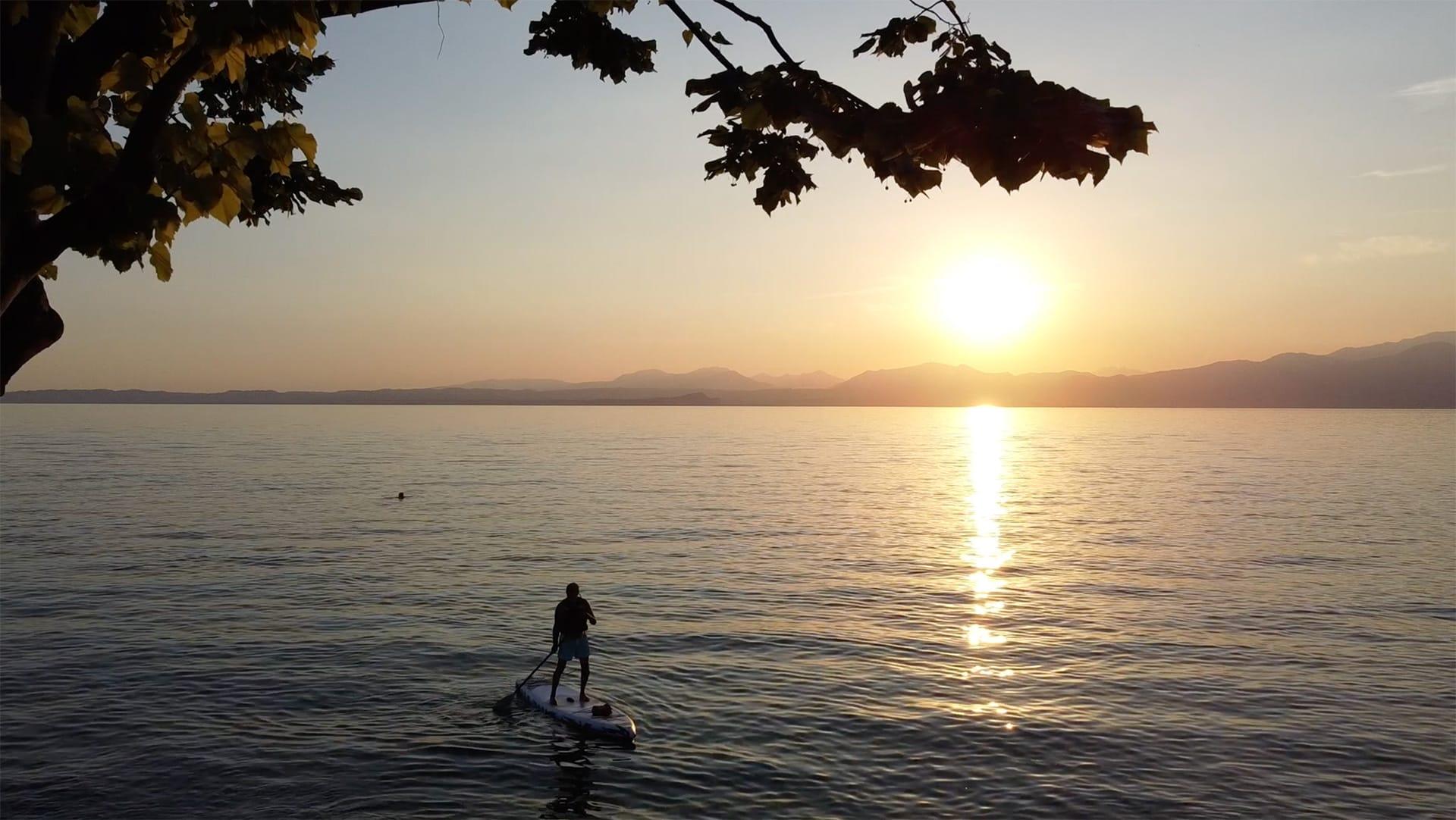 Lago di Garda sport reportage sup